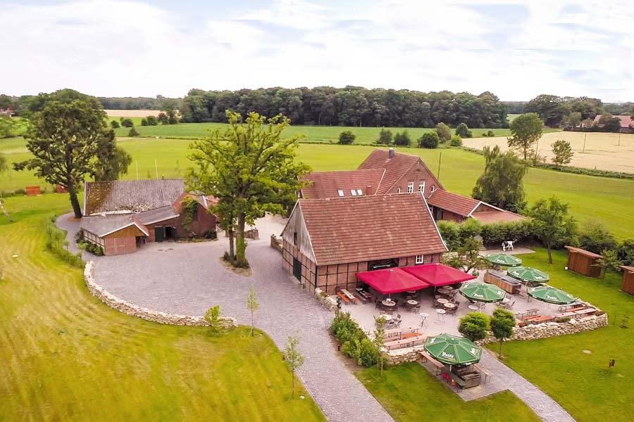 ... Luftbild Vom Hof Beverland ...