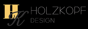 The logo of the stylist Holzkopf Design